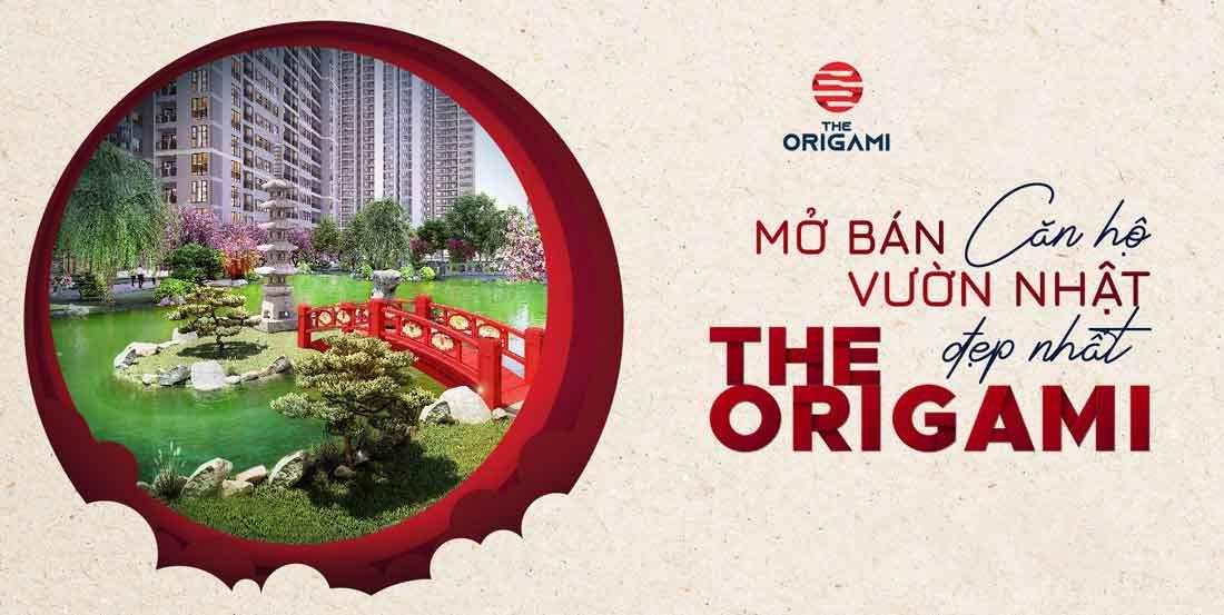 Tháng 10 năm 2020 mở bán căn hộ Vườn Nhật đẹp nhất phân khu The Origami  Vinhomes Grand Park quận 9
