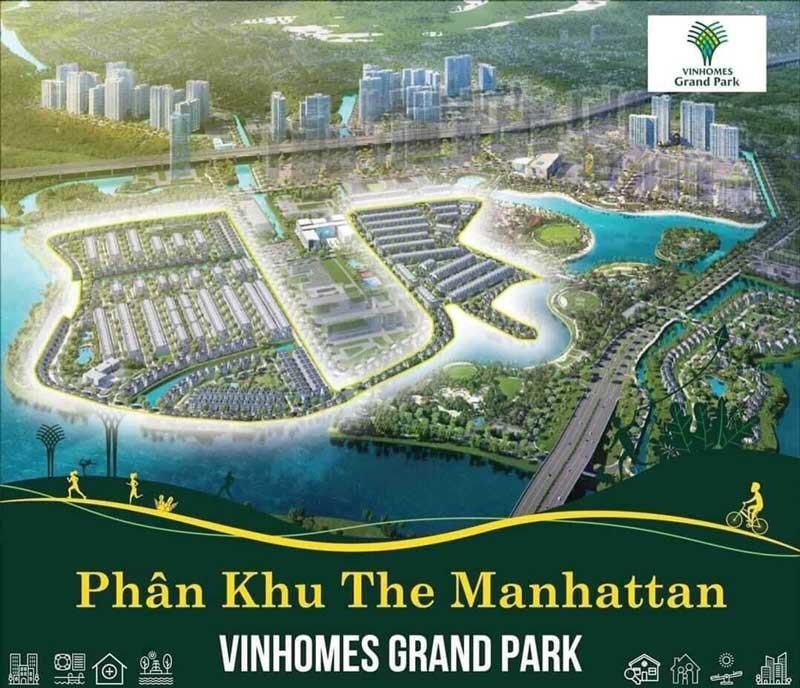 TỔNG QUAN NHÀ PHỐ THE MANHATTAN VINHOMES GRAND PARK QUẬN 9