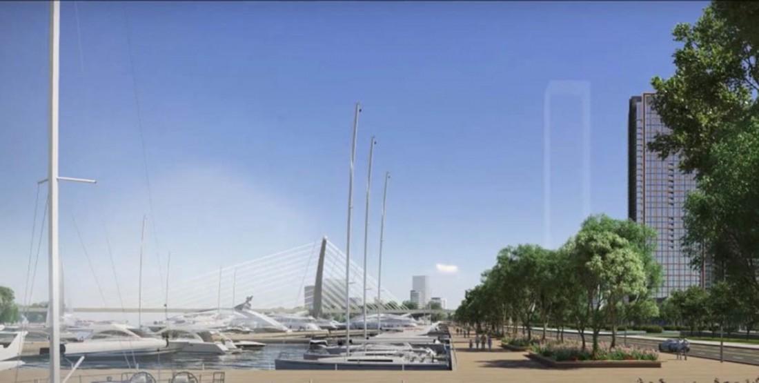 Bến du thuyền dự án