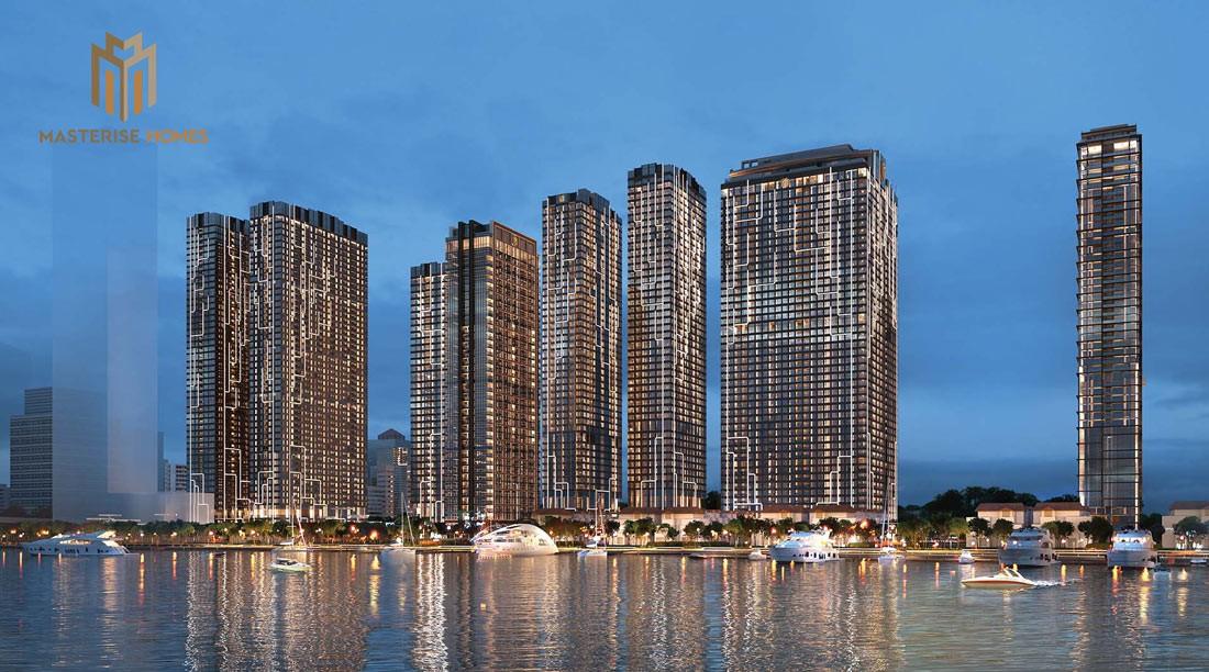 Phối cảnh tổng thể dự án Grand Marina