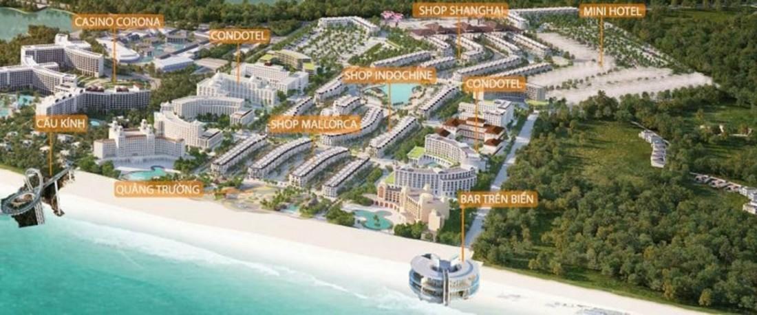 Mặt bằng chi tiết các phân khu Grand World Phú Quốc