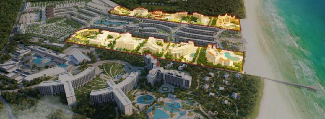 Mặt bằng phân khu Condotel dự án Grand World Phú Quốc
