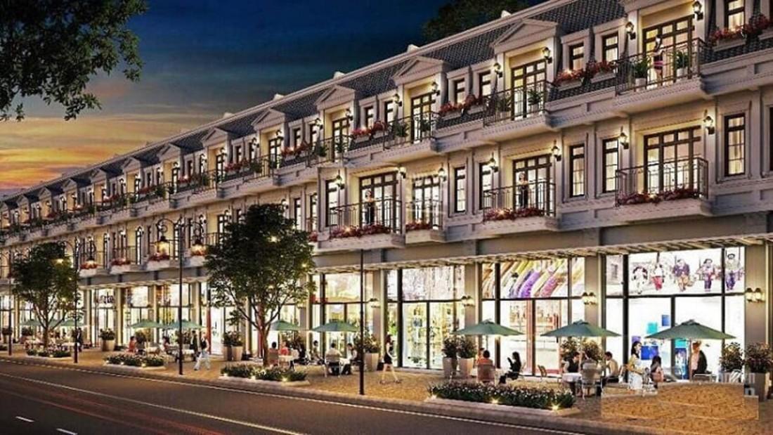 Shophouse tại Grand World Phú Quốc thiết kế rộng rãi, view đẹp