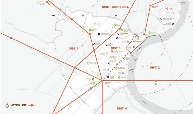Grand Marina Quận 1 sở hữu nhiều tiện ích ngoại khu đắt giá