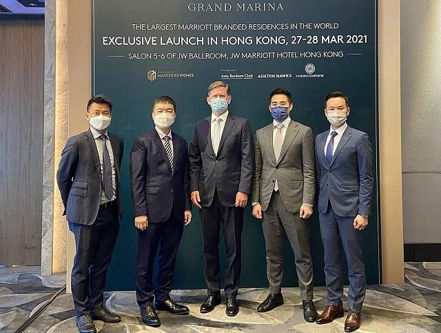 Lễ ra mắt dự án tại Hong Kong