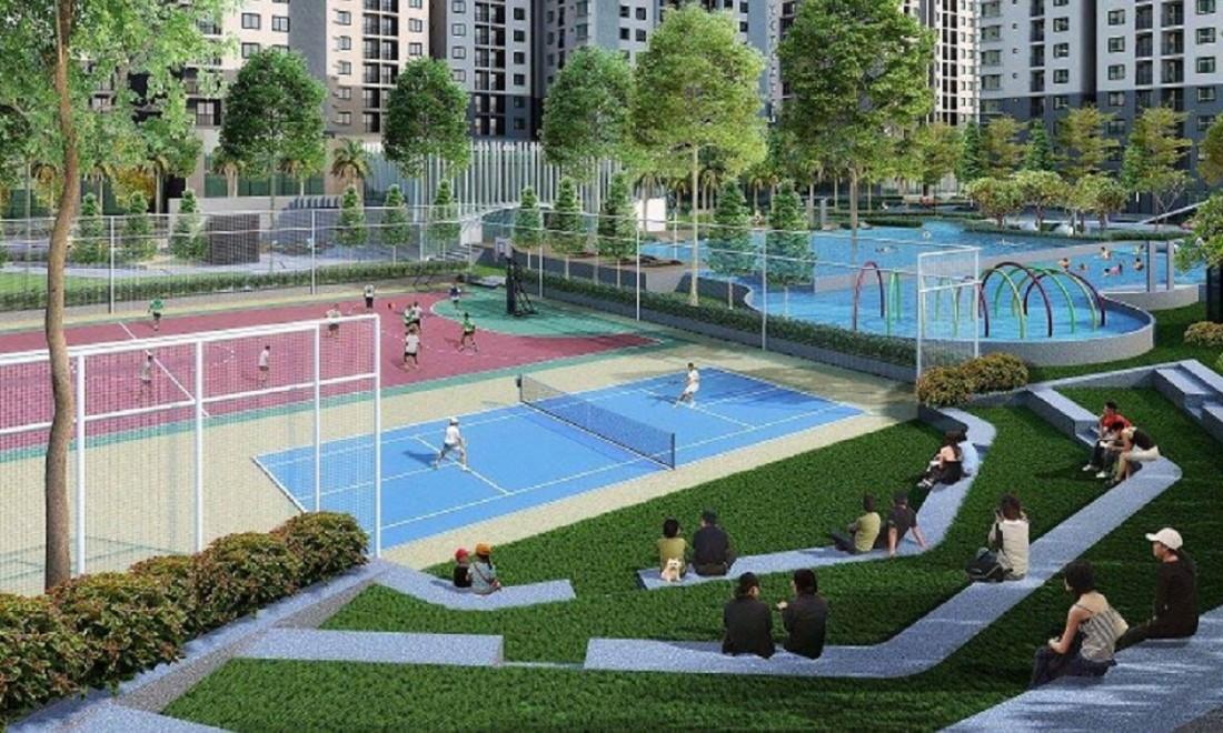 Vinhomes Dream City Hưng Yên cung cấp sân thể thao đa năng