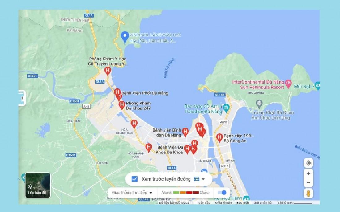 Chỉ ít phút di chuyển từ dự án Vinpearl Làng Vân có thể tới được nhiều địa điểm quan trọng