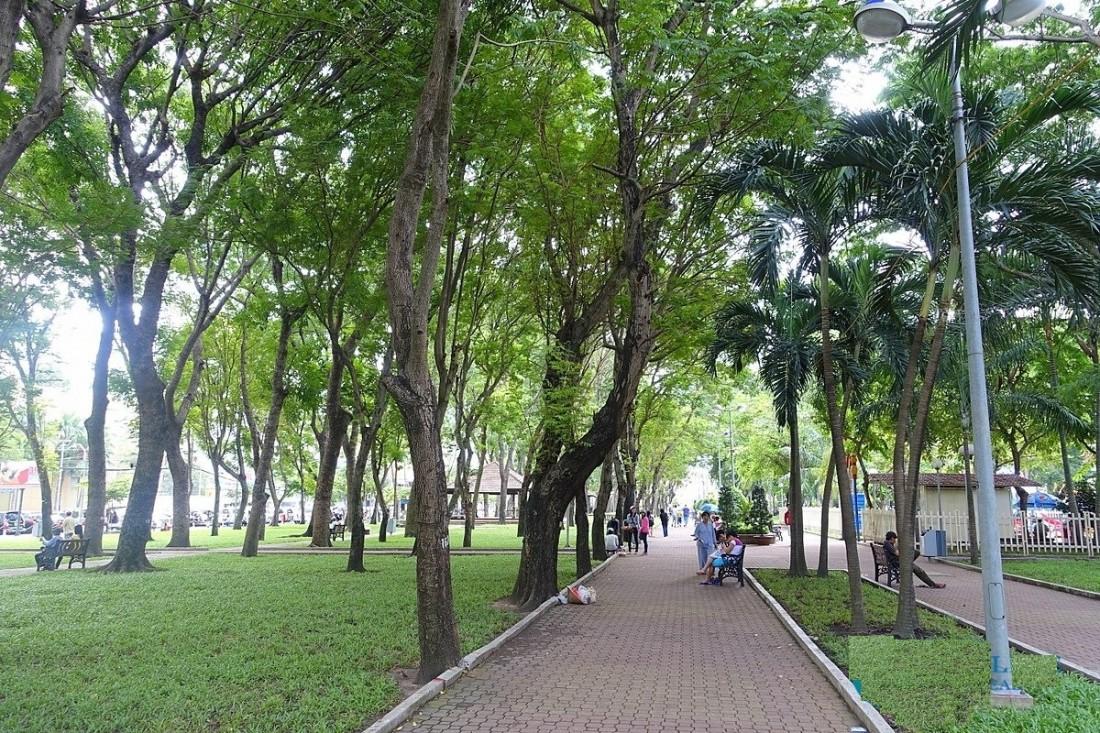 Công viên One Central SaiGon – Lá phổi xanh cho dự án và khu vực