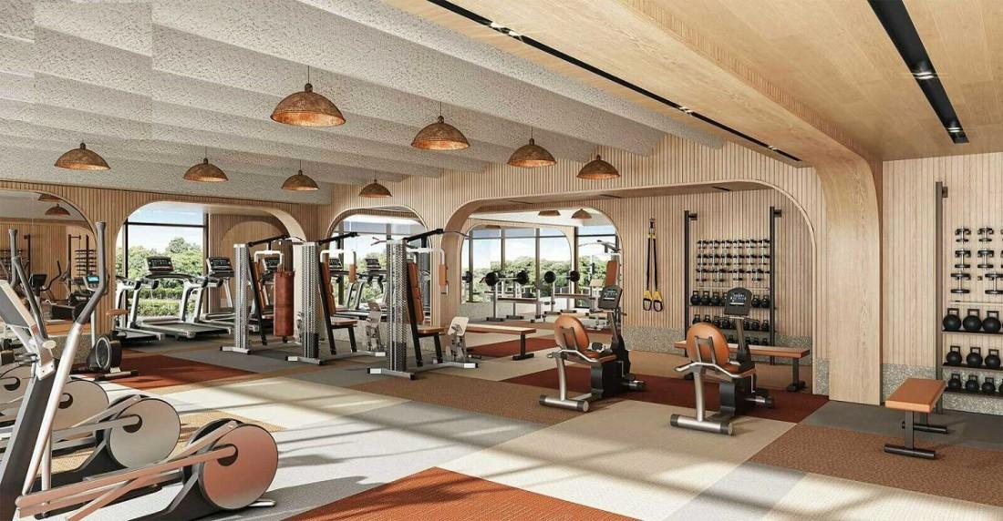 One Central SaiGon tích hợp khu phòng gym tiện nghi, sang trọng