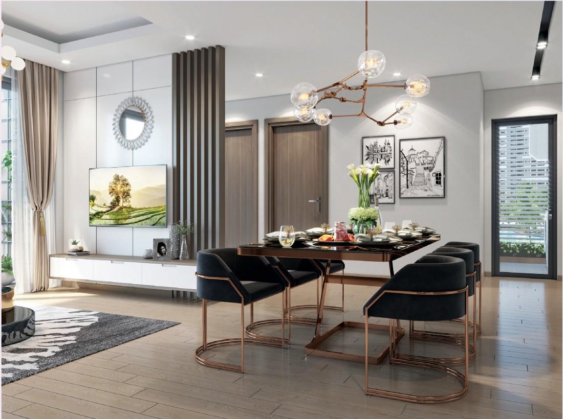 Thiết kế căn hộ điển hình trong dự án One Central SaiGon